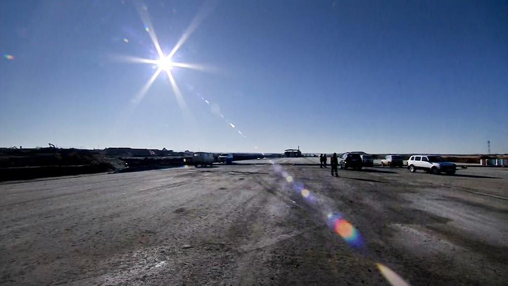 Строительство новой взлетно-посадочной полосы в аэропорту Симферополя