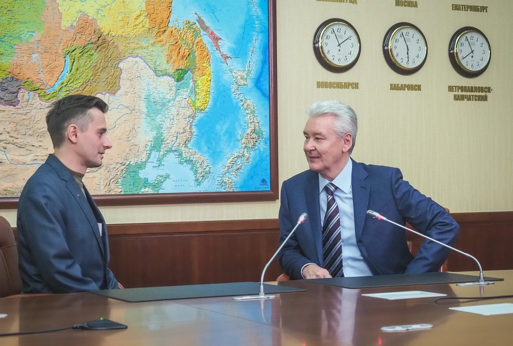 Мэр столицы Сергей Собянин провел личный прием граждан
