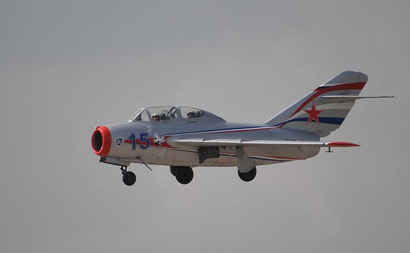 Реактивный истребитель МиГ-15УТИ