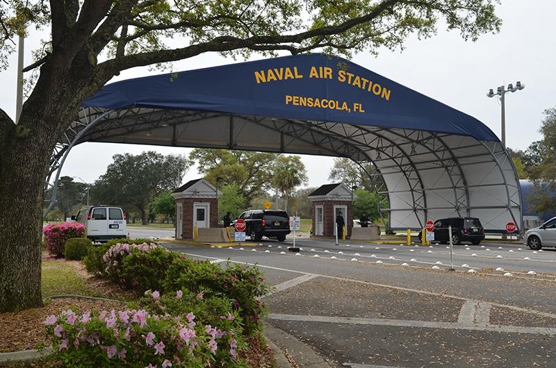 Авиабаза в Пенсаколе, штат Флорида