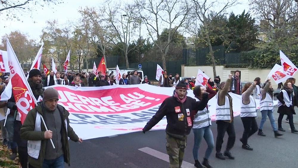 Протесты в Бордо, Франция