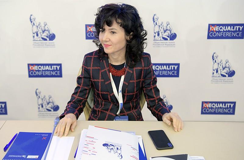 Секретарь Общественной палаты России Лидия Михеева