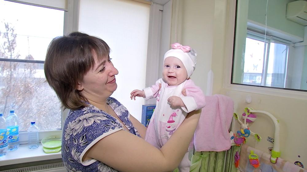 Четырёхмесячная девочка из Кемерова