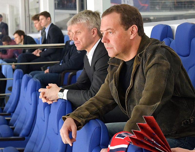 Дмитрий Медведев и Павел Колобков