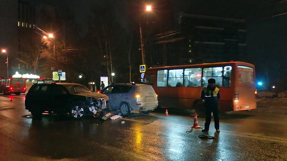 Последствия ДТП в Нижнем Новгороде