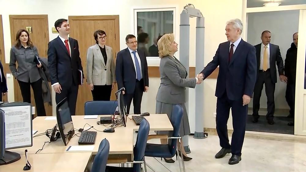 Сергей Собянин посетил новое здание правовой защиты населения