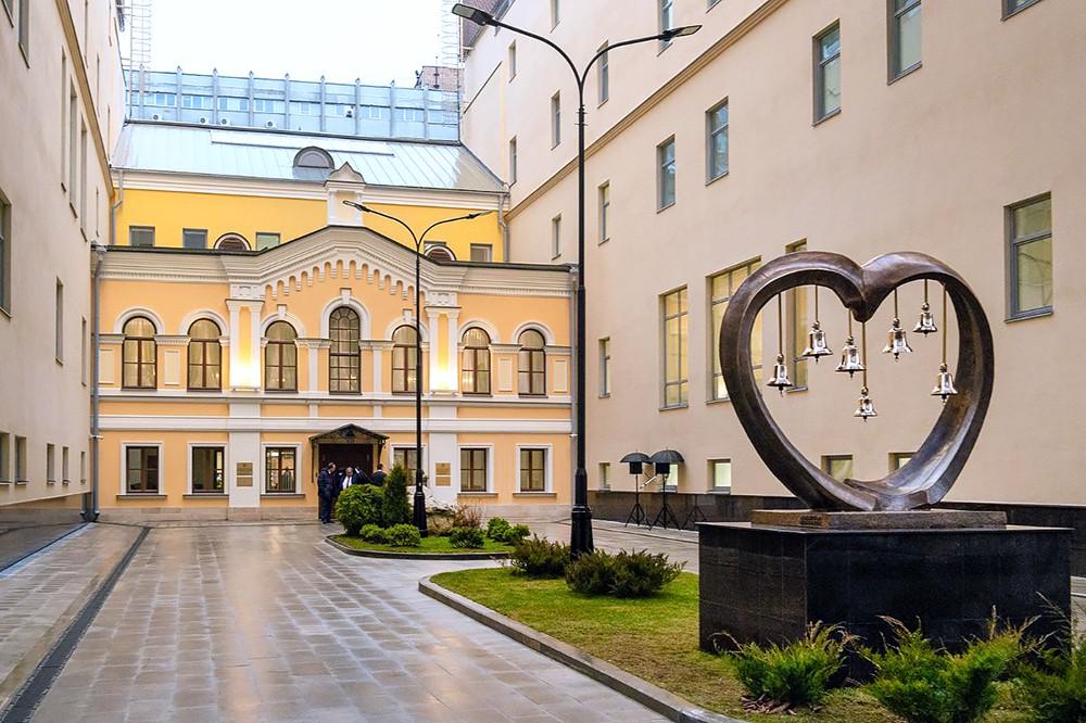 Новое здание аппарата уполномоченного по правам человека в Российской Федерации