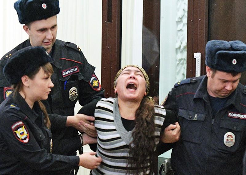 Шохиста Каримова, обвиняемая по делу о теракте в метро Санкт-Петербурга