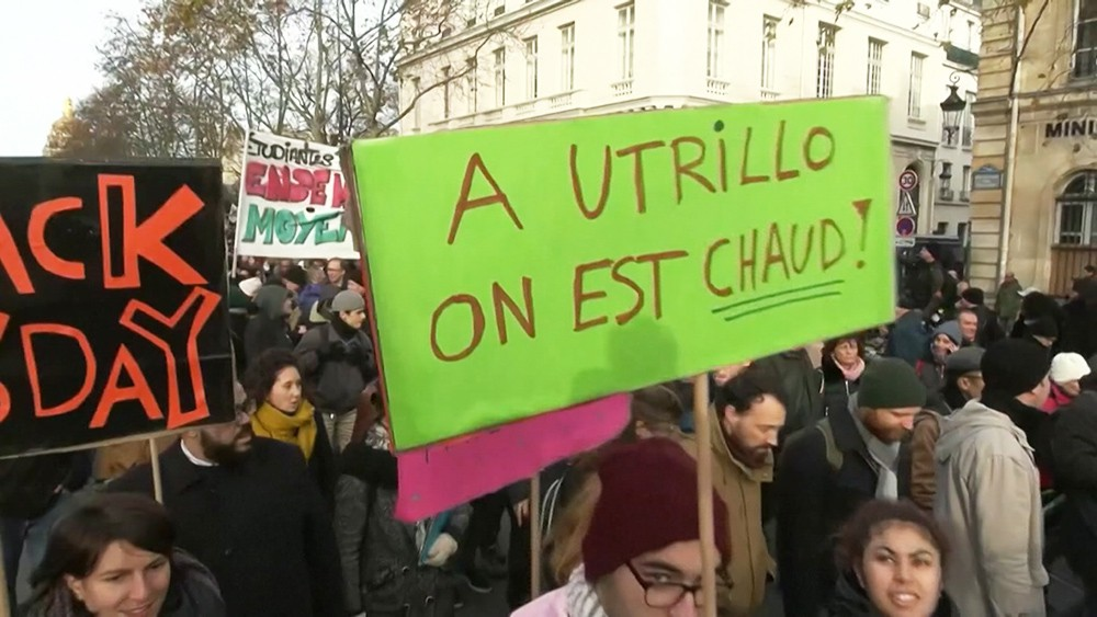 Протесты во Франции