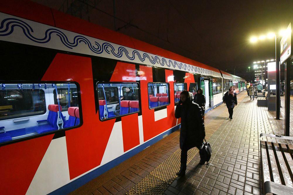 Поезд на МЦД