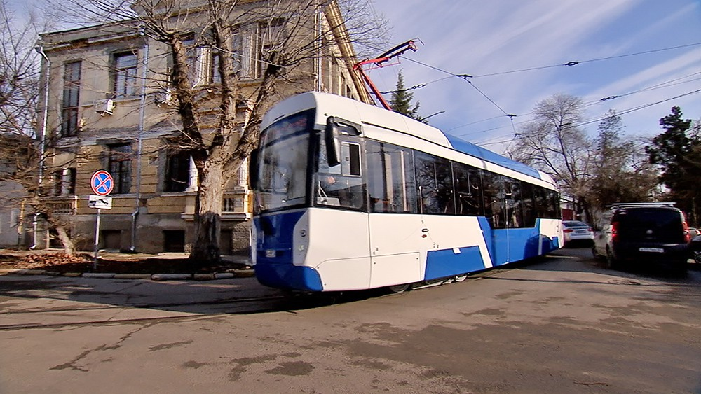 Трамвай в Крыму