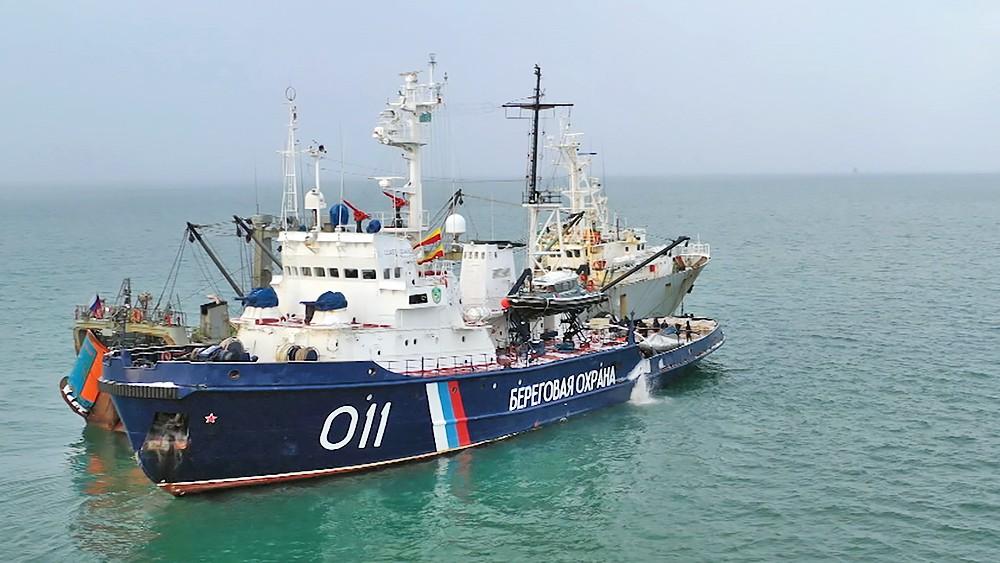 Береговая охрана задержала судно