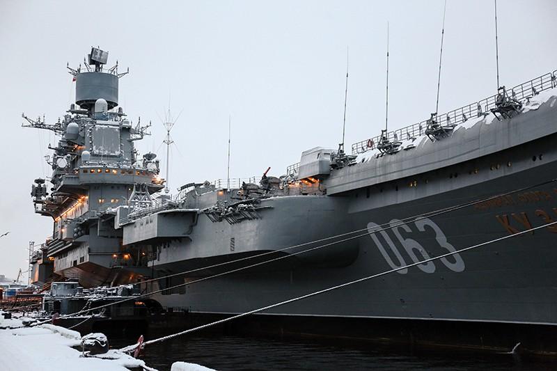 """Тяжёлый авианесущий крейсер """"Адмирал Кузнецов"""""""