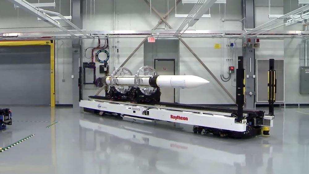 Балистическая ракета в США