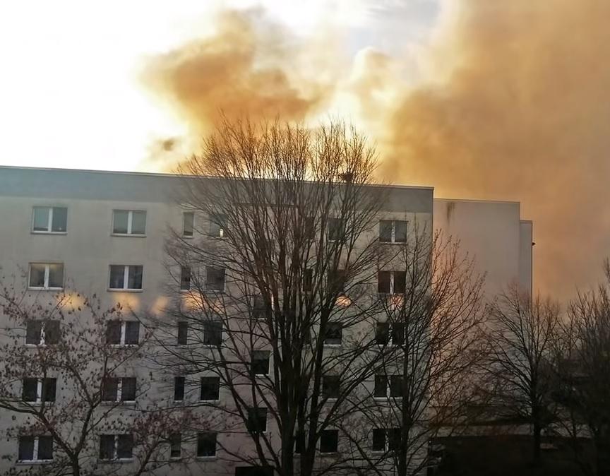 Взрыв в Германии