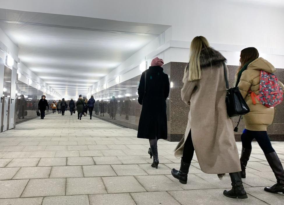 """Открытие перехода между станцией метро """"Площадь Революции"""" и улицей Никольская"""