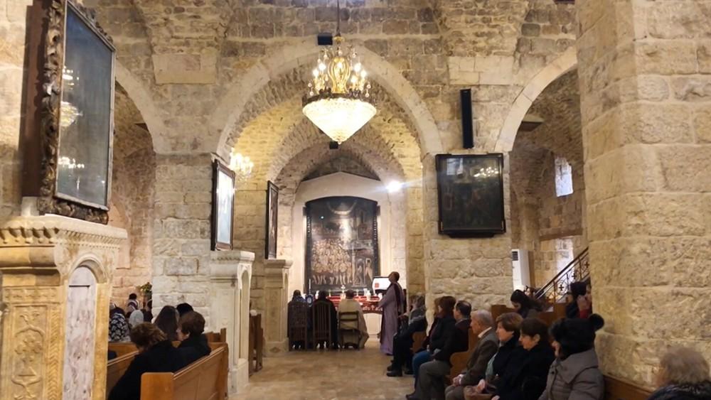 Армянский храм в Сирии