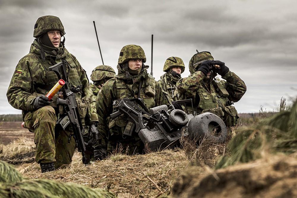 Военнослужащие армии Латвии в системе сил НАТО
