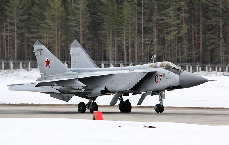 Истребители МиГ-31БМ