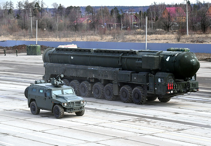 "Автономная пусковая установка ПГРК ""Ярс"""