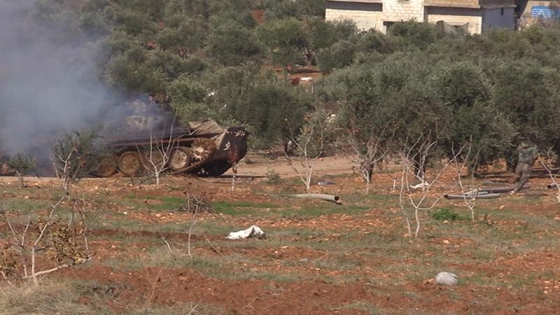 Атака террористов в Идлибской зоне