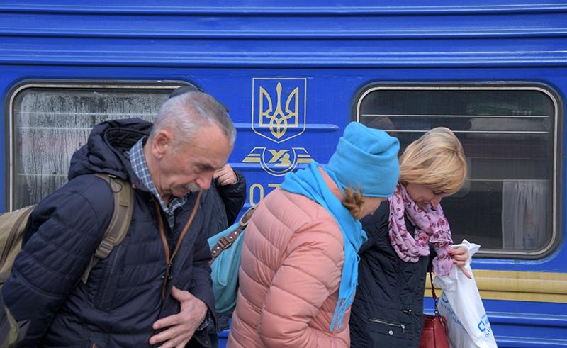 """Пассажиры поезда """"Москва-Киев"""""""
