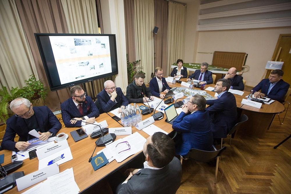 Заседание рабочей группы по реставрации и развитию Московского дворца пионеров