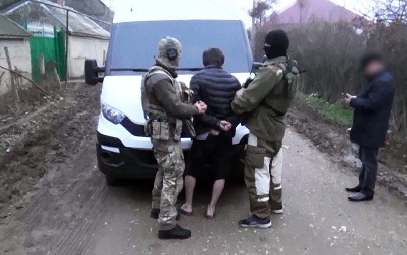 Задержание сотрудниками ФСБ России одного из членов террористической ячейки