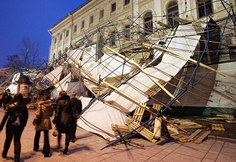 Последствия урагана в Санкт-Петербурге