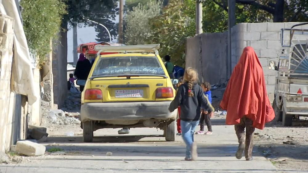 Сирийский город Эт-Табка