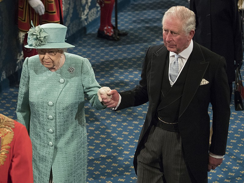 Принц Чарльз и Елизавета II