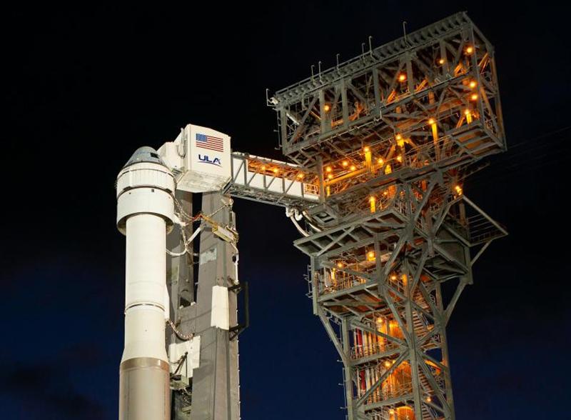 Ракета Alliance Atlas V с космическим кораблем Boeings CST-100 Starliner