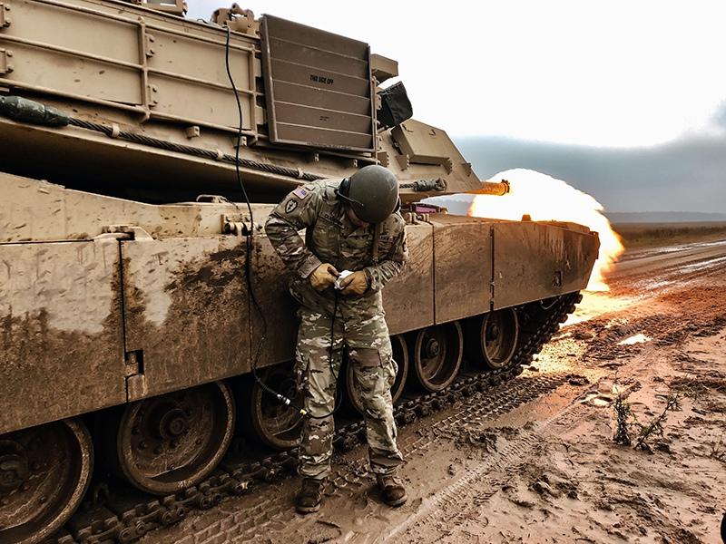 Танк M1 Abrams вооруженных сил США