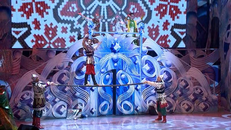 """Новогоднее шоу """"Волшебная звезда желаний"""""""