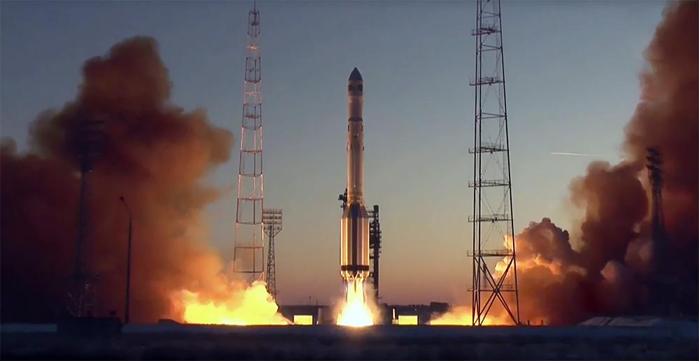 """Запуск ракеты """"Протон-М"""""""