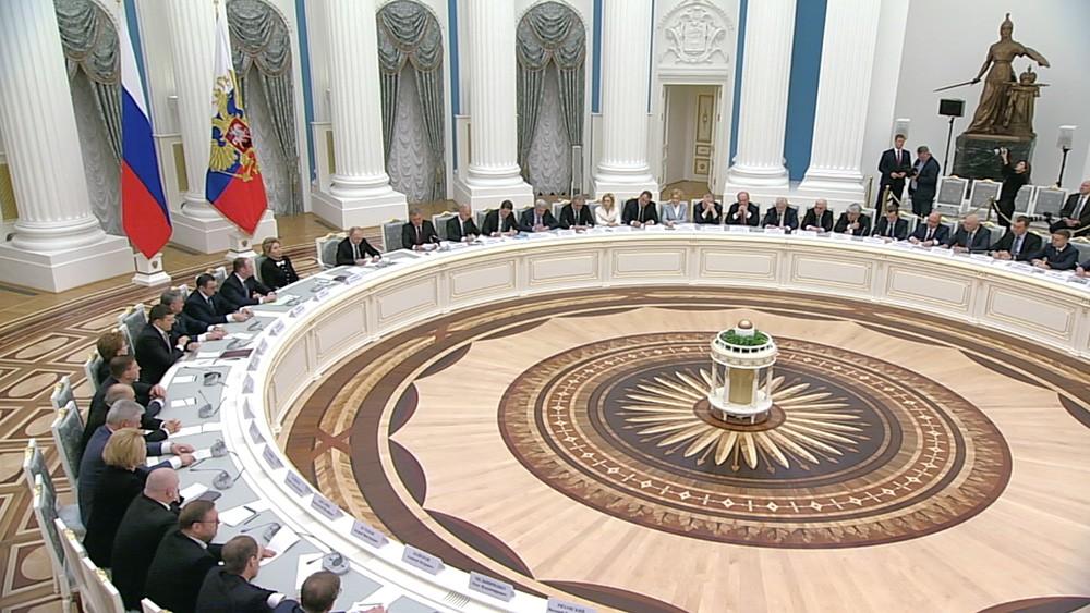 Заседание руководство палат Федерального Собрания