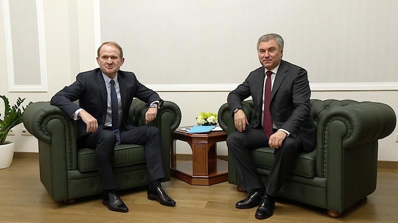 Вячеслав Володин и Виктор Медведчук