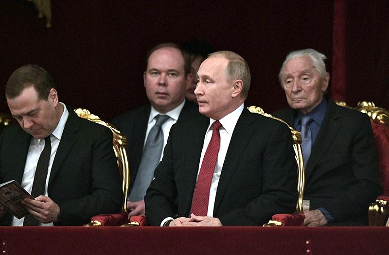 Владимир Путин в Большом театре
