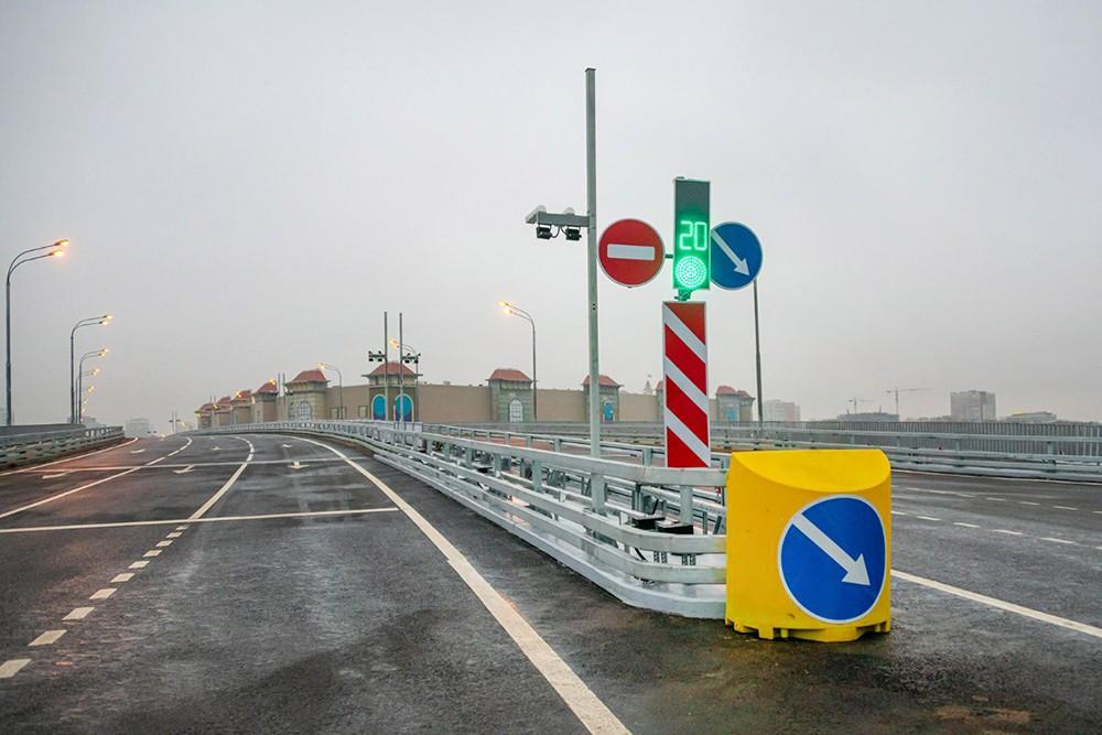 Автомобильный мост через Кожуховский затон