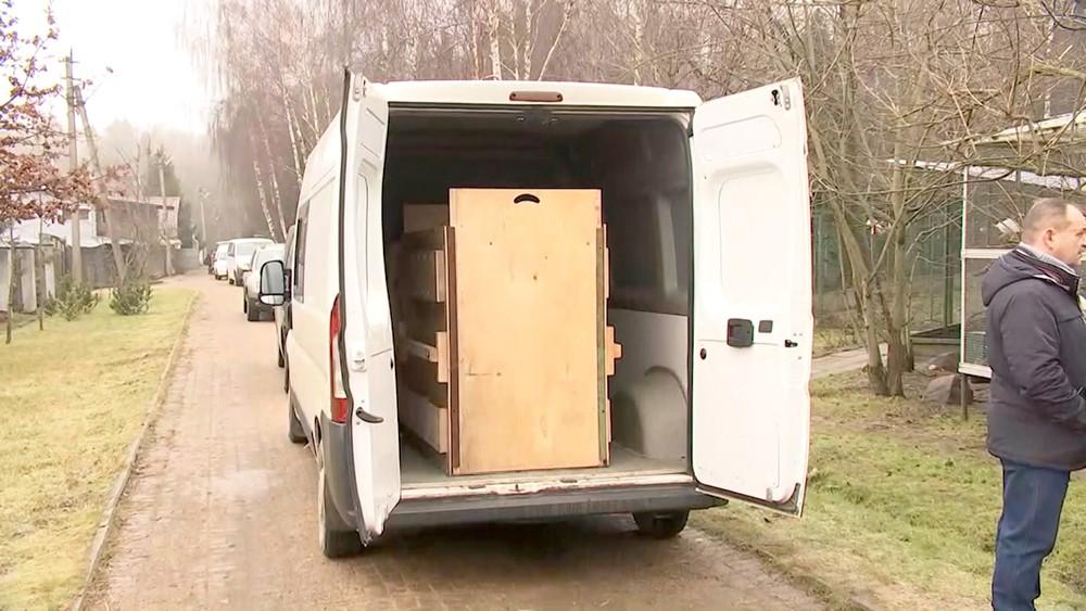 Коробка для перевозки