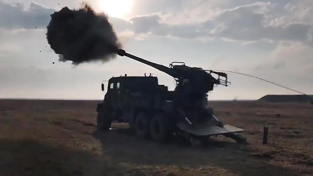 """Украинская самоходная артиллерийская установка """"Богдана"""""""