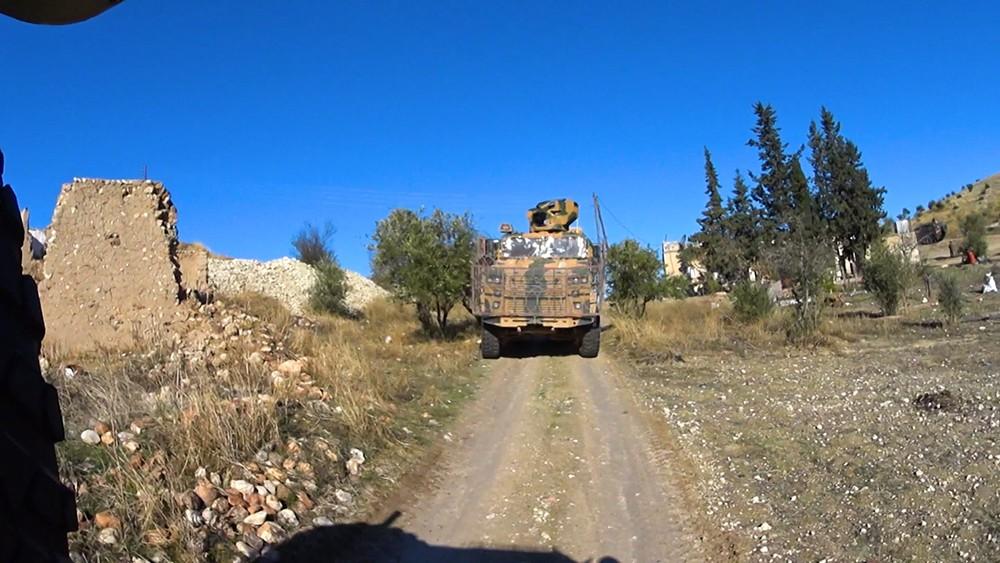Патрулирование на севере Сирии