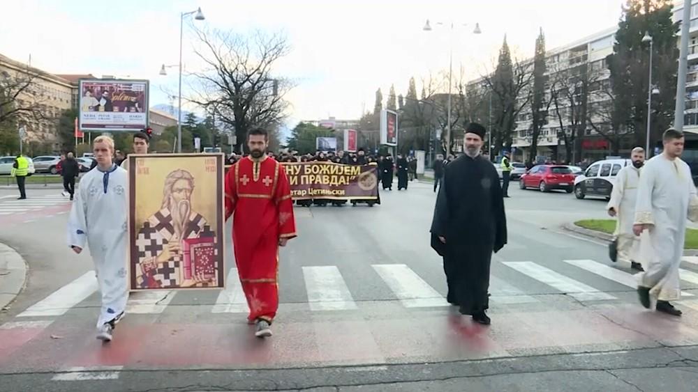 Крестный ход Сербской православной церкви