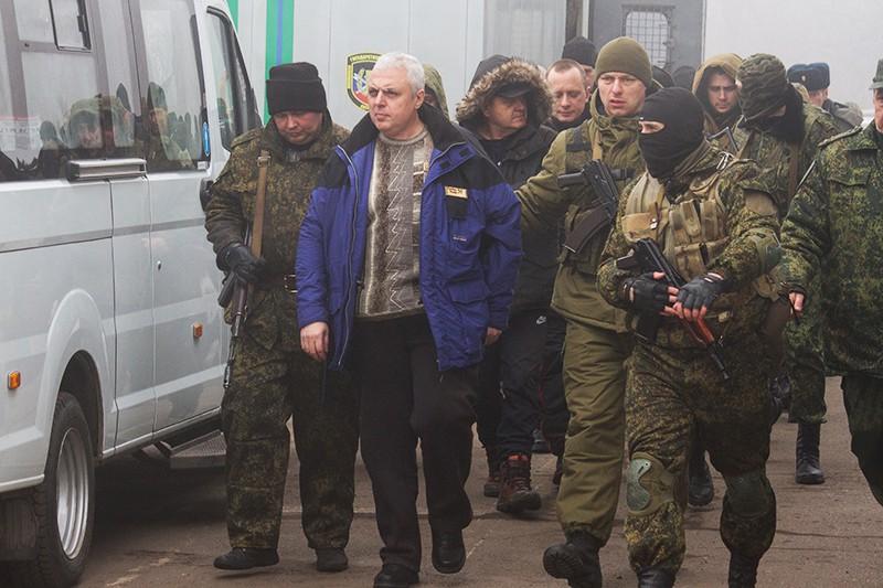 Обмен пленными между Украиной и Донбассом