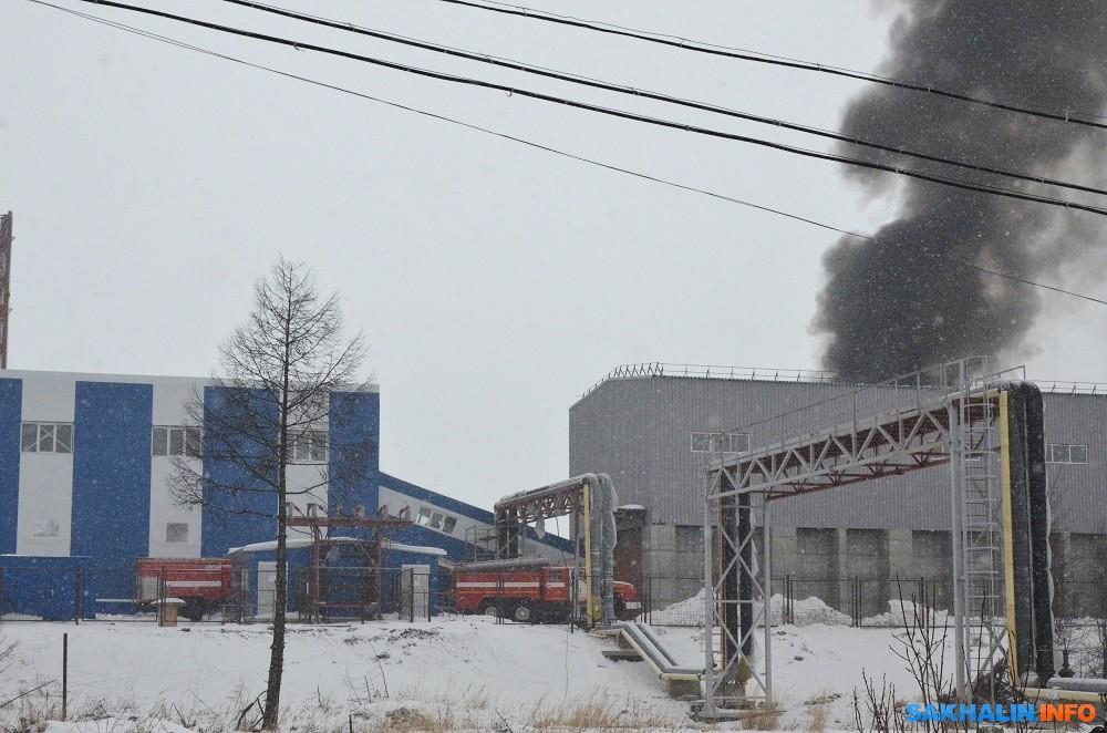 Пожар на Сахалине