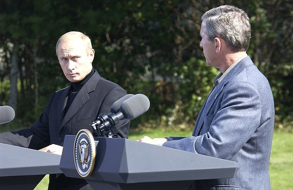 Переговоры с Джорджем Бушем