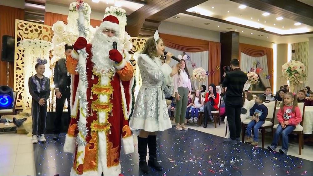 Новогодний праздник в Сирии