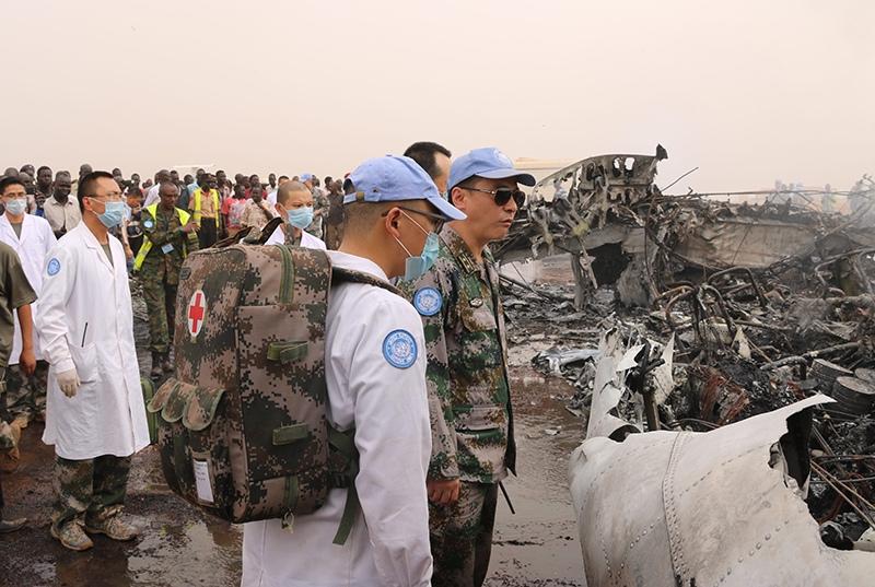 Крушение самолета в Судане