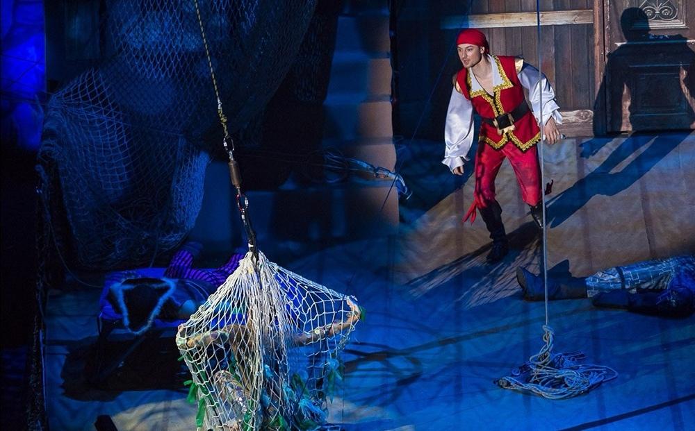 """Спортивное шоу """"Пираты и затерянный остров"""""""