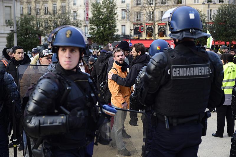 Забастовка железнодорожников во Франции